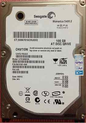 """Seagate Momentus 80GB 5400 RPM 2.5/"""" PATA// IDE Hard Drive Laptop HDD ST980815A"""