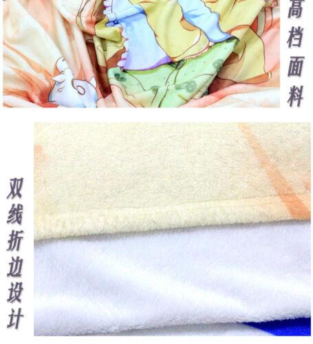Deutschland Game Azur Lane Soft Bedding Flannel Blanket Throw Travel 100*150cm