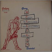 """GERRY MULLIGAN QUARTET: Rare FANTASY Jazz EP 7"""" 45 Super Chet Baker VG+"""