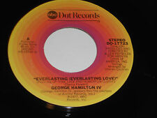 GEORGE HAMILTON IV NM- Everlasting Love 45 In The Palm Of Your Hand Dot DO-17723