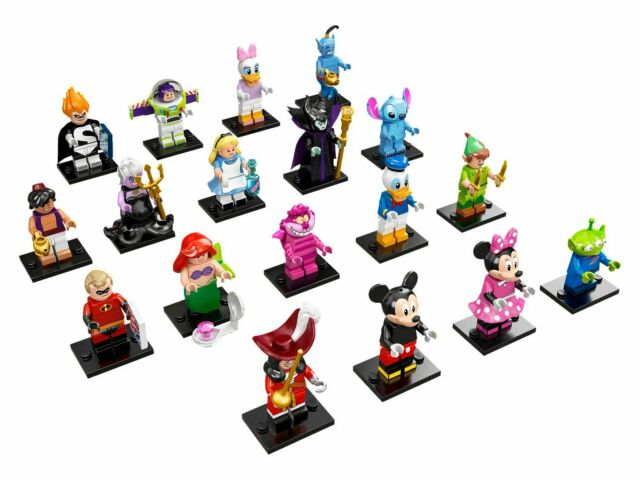 LEGO CMF Minifigures 71012 - Disney Series 1 complete set of 18 (New, 2016)