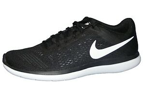 Damen 2016 Rn 830751 Sneaker 001 Running Neu Schuhe Schwarz Flex Laufschuhe Nike WIYE9HeD2