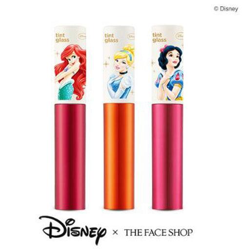 [The Face Shop] Tint Glass 5g (3 Colors) - Disney Princess