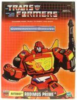 Transformers Tru G1 Commemorative Series Vii Reissue Rodimus Prime