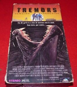 VHS-Movie-Tremors-Version-Francaise-Kevin-Bacon