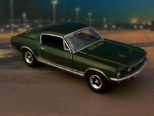 1967 67 FORD MUSTANG GT FASTBACK 1/64 SCALE DIECAST MODEL COLLECTIBLE - DIORAMA