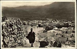 Tetuan-Tetouan-Marokko-Africa-Afrika-1920-30-Teilansicht-Panorama-ungelaufen