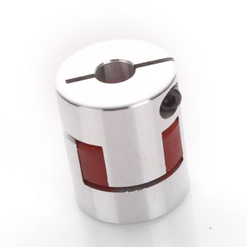 8mm X 8mm CNC Flexible Jaw Spider Plum Coupling Shaft Coupler D 25mm L30mm