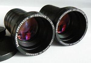 2 Objektiv Schneider-Kreuznach AV-Xenotar 2,4/90 HFT Germany Rollei Rolleivison!