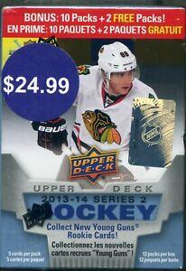 2013-14-Upper-Deck-Hockey-Series-2-Blaster-Box-12-packs-Factory-Sealed-Kucherov