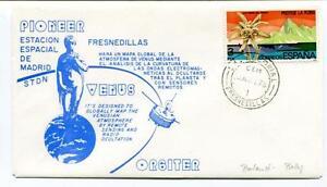 1978 Pioneer Estacion Espacial Madrid Stdn Orbiter Venus Fresnedillas Espana Sat