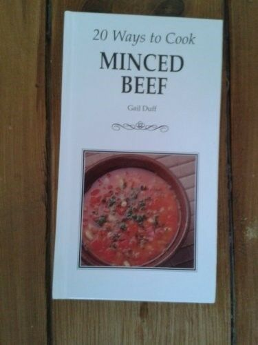 20 Ways to Cook Minced Beef, New Books