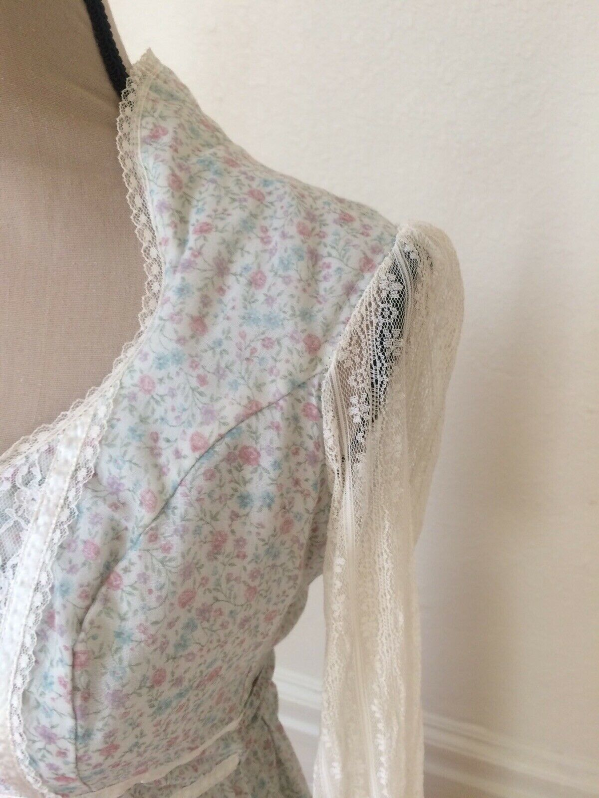 1970s Gunne Sax by Jessica Authentic Victorian Ba… - image 6