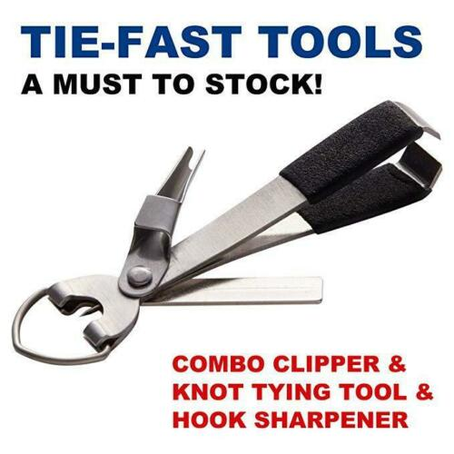 4 In 1 Quick Knot Cutter Nippers Snip Tying Tool Nail Clippers Line With Zinger