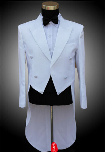 Spring Mens Coat Jacket suits pants Formal Tail Trouse Party Wedding Tuxedo Sz