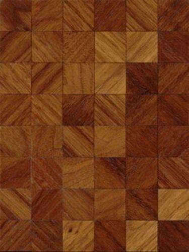 Dollhouse Miniature 1 24 Scale Evian Walnut Wood Flooring Kit Ebay