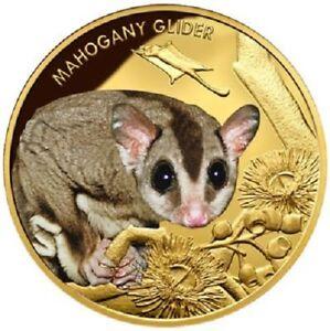 Niue - 100 Dollar 2015 - Edangered & Extinct (5.) - Gleithörnchen - 1 Oz Gold PP