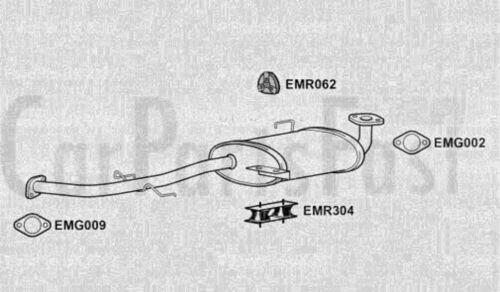 EXHAUST SILENCER ISUZU TROOPER II 3.1 TD Diesel 1991-08-/> 1998-07 UB