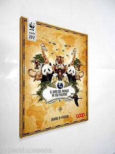 IL-GIRO-del-MONDO-in-180-figurine-diario-di-viaggio-album-coop-completo