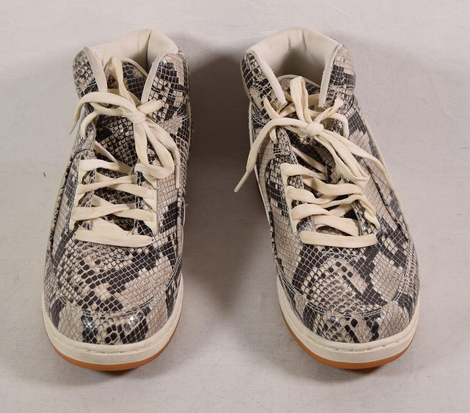 Nike Air Python PRM Sneakers Slate Brown Snakeskin 11 Mens 705066