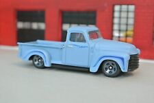Hot Wheels '52 Chevy Pickup Truck - Flat Blue - Loose - 1:64 - Exclusive - Rare