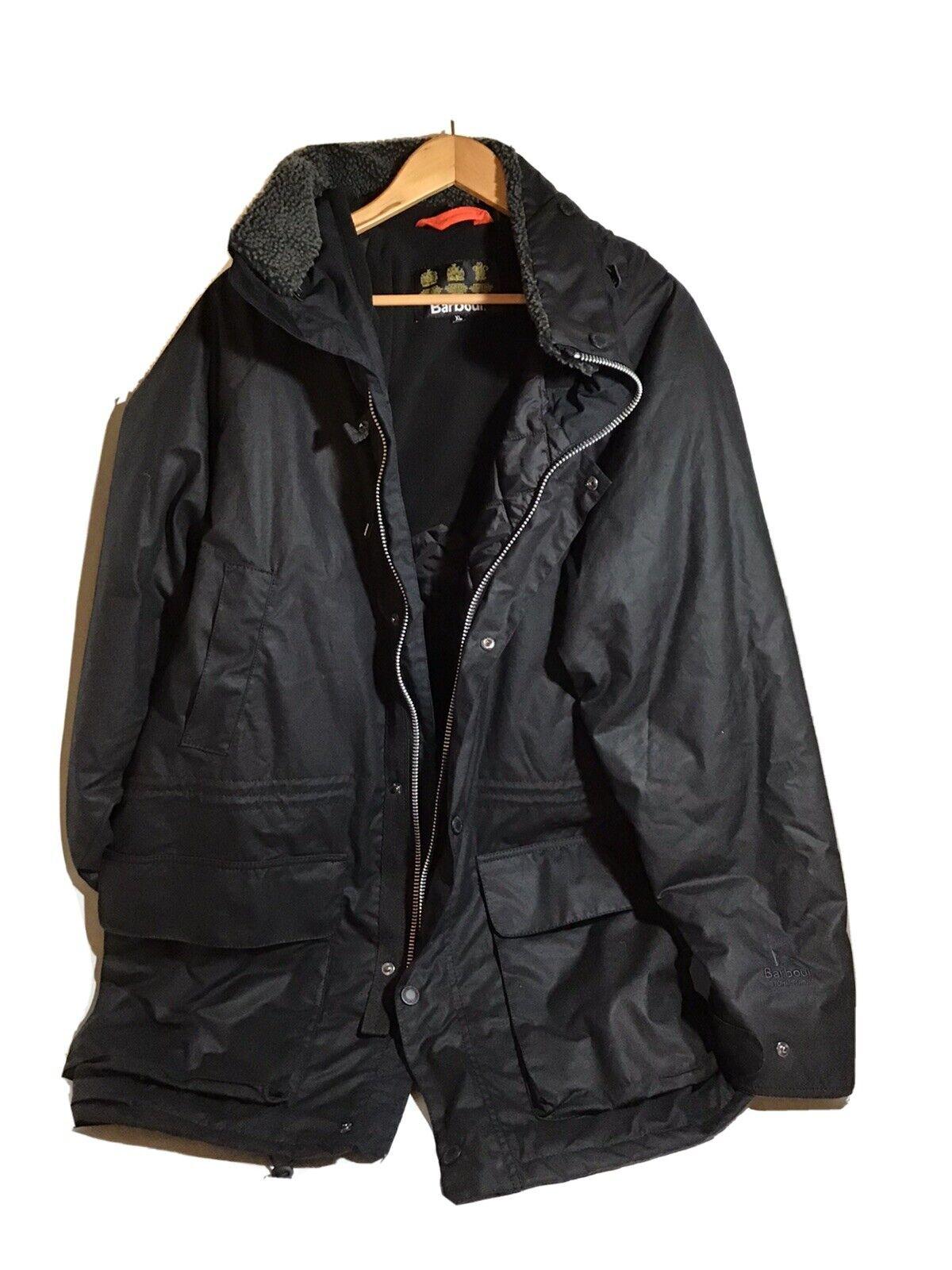 Barbour Fenton Wax Jacket XL Black - image 1