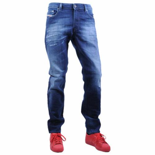 DIESEL THAVAR XP R8FG4 Mens Denim Jeans Slim Fit Skinny Distressed Casual Pants
