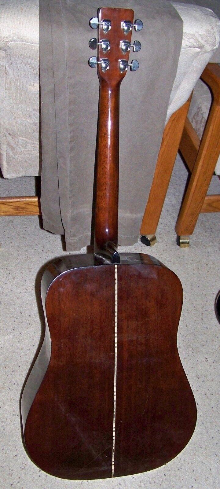 s l1600 - 1970's Penco Full Size Acoustic Guitar Vintage Japan