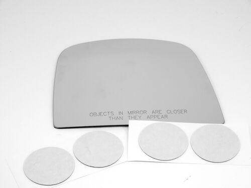 Savana Right Pass Upper Convex Mirror Glass Lens Convex w//A Fits 08-15 Express