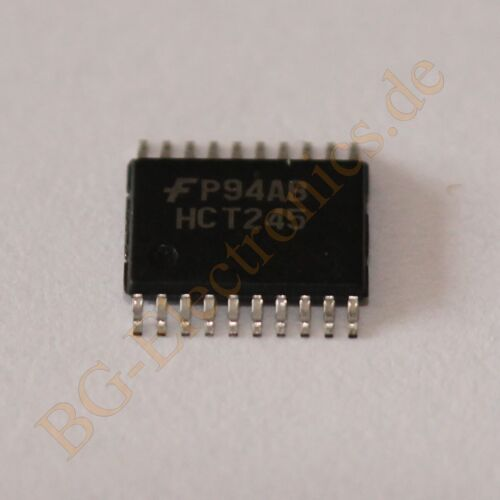 5 x MM74HCT245MTC Octal 3-STATE Transceiver Fairchild TSSOP-20 5pcs