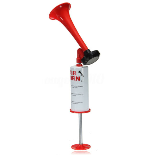 Hand Held Air Horn Portable Pump Loud Noise Maker Safety Parties Sports Events