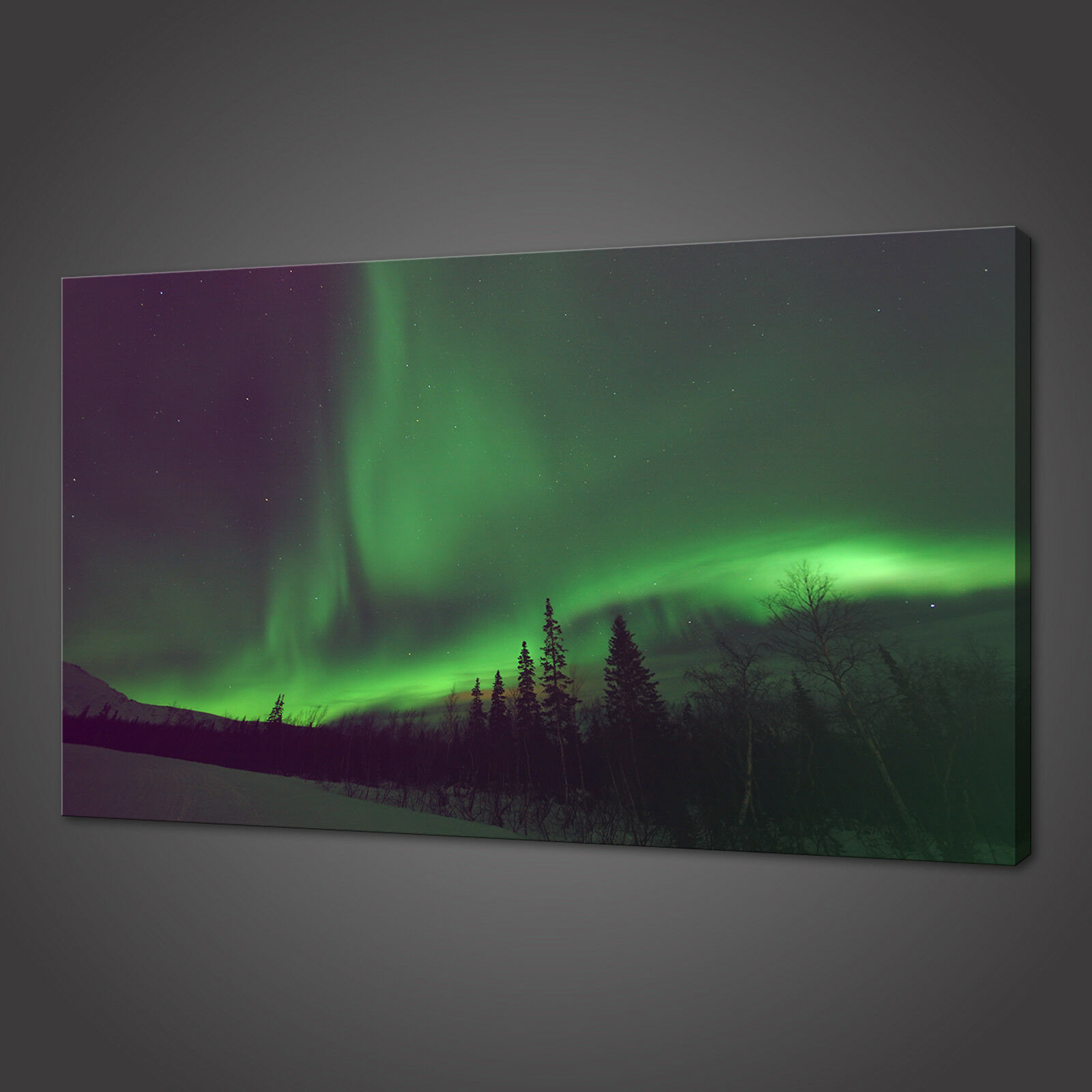 GREEB lila LIGHTS DECOR HOME ART WALL PRINT PICTURE CANVAS