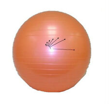 """Stability Pilates Yoga Fitness 45cm Gym Exercise 18"""" Inflatable G BALL 7160-45"""