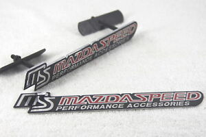 Mazdaspeed-Front-Grill-and-Rear-Boot-Badges