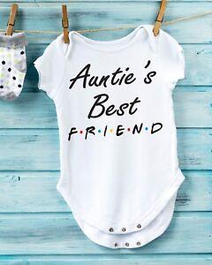 e24d4d734 Details about Friends TV Show Inspired Auntie's Best Friend on a Gerber  Onesie, Shower Gift