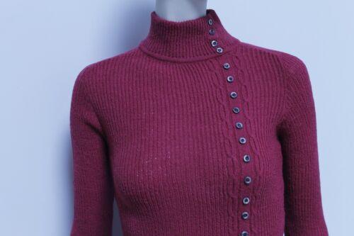 alto decorativi Ovp Our '70 degli con Maglione True Vintage Maglia e bottoni '70 vintage collo anni anni ZEBxnqaX