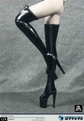 """1//6 Over The Knee Boots HOLLOW For 12/"""" PHICEN TBLeague Female Figure ❶USA❶"""