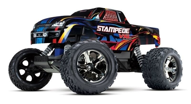 Traxxas Stampede VXL VXL VXL brushless 2.4gh 2wd rock and roll rtr sin batería - 36076-4  encuentra tu favorito aquí