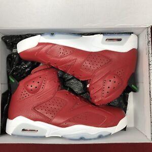 wholesale dealer 777dc bf48c Image is loading Nike-Air-Jordan-Retro-VI-Spizike-History-Of-