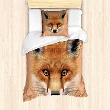 Fuchs Bettwäsche Set Vixen-Säugetier-Sommer-WaldWeicher Microfaserstoff