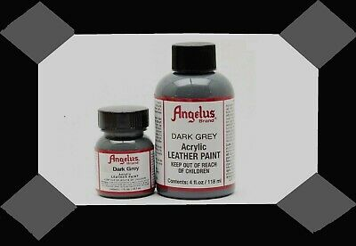 Angelus Acrylic Leather Paint-Dark Grey