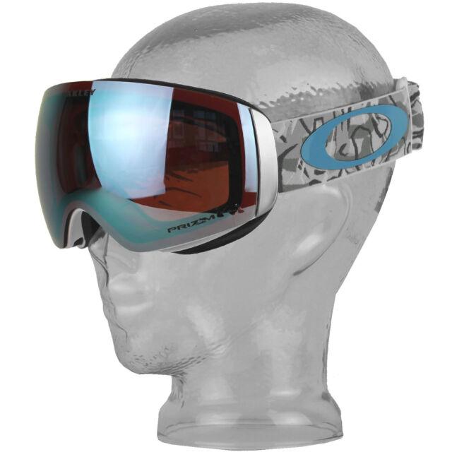 65c86c7e547 Oakley Ski Goggles Flight Deck XM Oo7064-75 Camo Vine Snow Prizm Sapphire  Iridiu