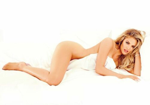 A KHLOE KARDASHIAN 24 inch by 36 inch Hollywood Celebrity Art Photo Poster