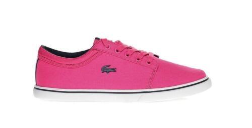 Vaultstar Sleek 29scw1203s1n Womens Canvas Pink 7 Scw Lacoste Nbs Trainers aAEw5q