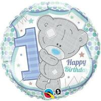 Me To You Tatty Teddy 1st Birthday Boy Qualatex 45.7cm Foil Balloon