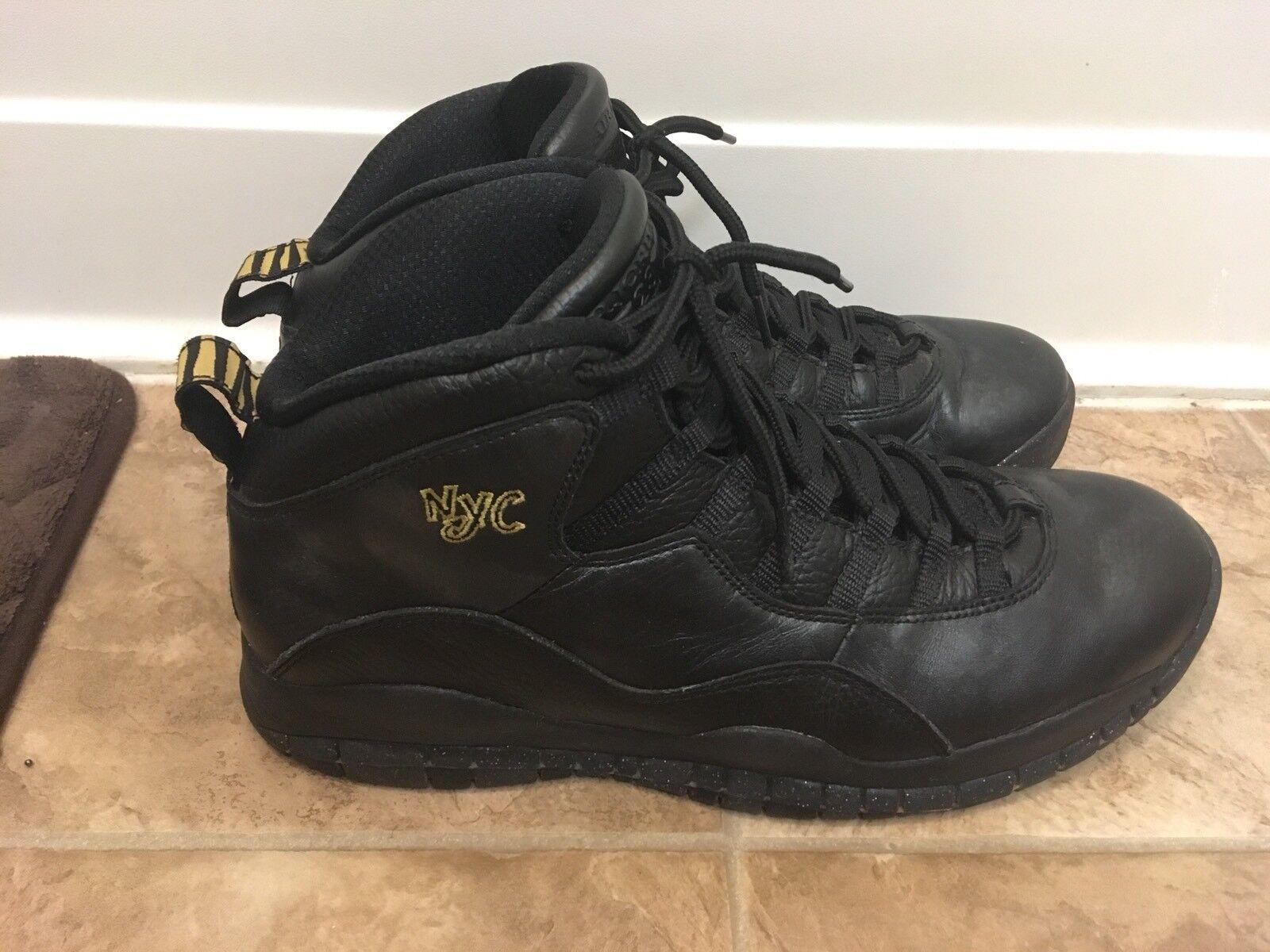 Nike Air Jordan Retro 10 x NYC precios reducción de precios NYC nuevos zapatos para hombres y mujeres, el limitado tiempo de descuento c3d380