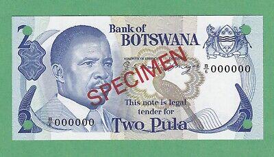 Botswana P-30 Ten Pula Year 2009 ND Uncirculated Banknote Africa