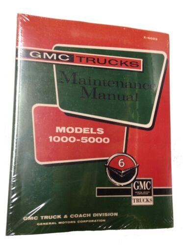 1960 1961 GMC Truck Shop Service Repair Maintenance Manual Models 1000-5000
