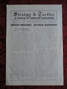 Strategy-amp-Tactics-A-Journal-of-American-Wargaming-Volume-I-No-1-January-1967