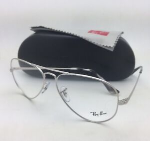 84e2449d53 New RAY-BAN Aviator Classic Rx-able Eyeglasses RB 6489 2501 55-14 ...